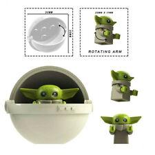 Baby Yoda Star Wars Jedi Master Mini Action Figure Mandalorian Series Moc