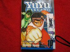 Yuyu Hakusho anime manga vol / issue #10 shonen naruto bleach hellsing