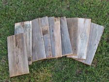 ON SALE - Reclaimed Old Fence Wood Boards - 10 Fence Boards - 12 Inch Lengths