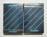 2 Vintage Unopened Decks of Defunct TranStar Airlines  Playing Cards