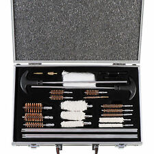 126 pc Gun Cleaning Kit Universal Rifle Pistol Shotgun Firearm Maintenance