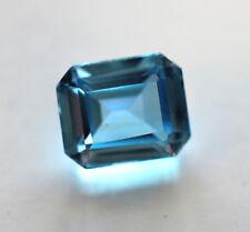 6,45 ct  Saphir de Labo bleu ceylan