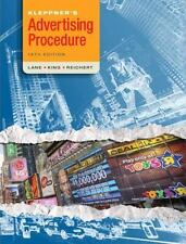 Kleppner's Advertising Procedure (18th Edition) by Lane, Ron, King, Karen