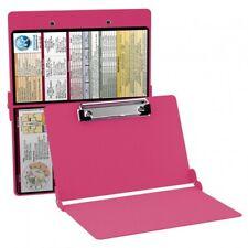 New WhiteCoat Folding Full Size Clipboard - Pink Medical Edition Hippa Cna Nurse