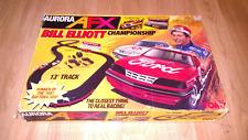 AURORA AFX Bill Elliot Championship #8612 with Slot Cars
