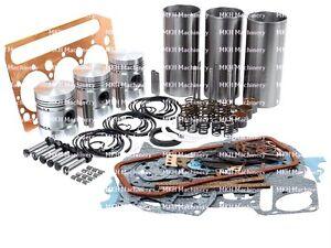 ENGINE OVERHAUL KIT FOR SOME MASSEY FERGUSON 240 250 550 TRACTORS. AD3.152