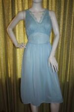 Ropa vintage de mujer de color principal azul de nailon