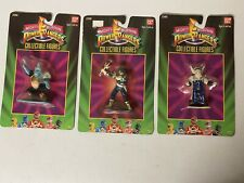 Power Rangers Collectible Figures Lot Of 3SEALED 1993 Fast Shipping!!