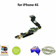 iPhone 4S  Charging Charge Port Dock Connector Flex Ribbon Cable Assembly BLACK