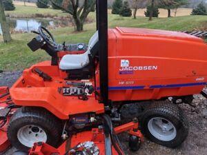 Jacobsen HR5111, 11 foot cut 49 HP Kubota diesel: great condition; 3480 hours