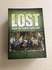 LOST Season 3    Inkworks Complete base card set     90 cards
