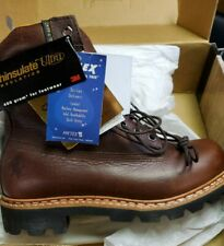 Chippewa Steel Toe Leather Boots (Style 25950, Size: Men's 8.5 EXTRA WIDE)