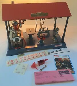 Wilesco D141 Live Steam Engine Workshop from West Germany