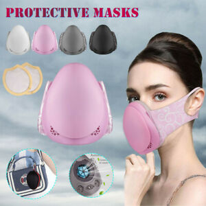 Adult Intelligent Electric Anti-Fog Haze Air Respirator Replaceable Filter