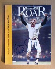 "Detroit Tigers Kirk Gibson Signed 1984 World Series ""The Roar"" Program. COPY"