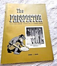 METROPOLITAN LIFE INSURANCE CO MAGAZINE PROSPECTOR SUN VALLEY ID PRESIDENTS 1949