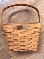 "Longaberger 1993 Edition Dresden Basket Woven handmade in USA Approx 11"" tall"