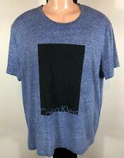 Calvin Klein Jeans Blue T Shirt Unisex - XL - Free Post