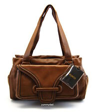 MIMCO UNE POCKET LEATHER DAY BAG IN CARAMEL COLOUR BNWT RRP$499