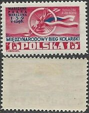 Mint Hinged Postage Polish Stamps