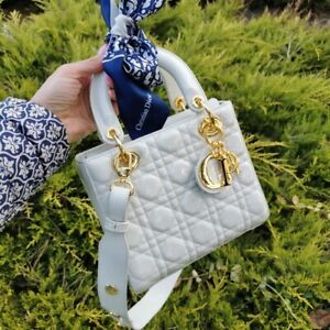 Cristion Dior Lady Polished leather  Size: 20/18 NEW * SALE *
