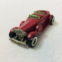 Vintage Hot Wheels - 31' Doozie Convertible - Maroon Red - Malaysia - 1976