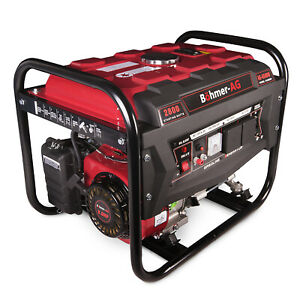 BOHMER-AG 6500W Stromgenerator Notstromaggregat Benzin Stromerzeuger