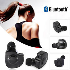 Mini Bluetooth Headset Earphone Twins Noise Cancelling Earbuds with Microphone