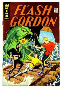 FLASH GORDON  #6 1965 King Comics 7.0  CRANDALL ART   Vivid Colors  GREAT Copy