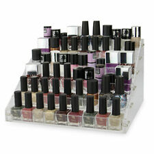 6 Tier Makeup Organiser Acrylic Nail Polish Display & Storage Rack Pukkr
