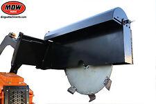 Disc wheel Trencher 300mm depth x 100mm deep cut, suits Dingo-Kanga-Toro-Boxer