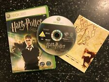 PAL XBOX 360 GAME HARRY POTTER AND THE ORDER OF THE PHOENIX +BOX & MAP