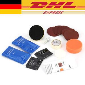 KFZ Frontscheinwerfer Reparatur Polier Set Scheinwerfer Politur Aufbereitung NEU