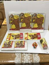 Alf Tv Show C. A. Reed Large Vintage Party Goods Lot Bags, Cups, Napkins,
