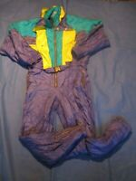 vtg 90s Rodeo Ski suit Snowboarding skiing sports fancy dress REF002A