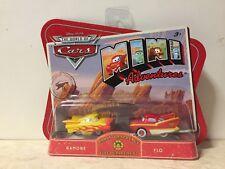 Disney CARS 1 MINI ADVENTURES Radiator Springs Fire Department Ramone & Flo