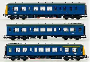 BACHMANN 00 GAUGE - 32-912 - CLASS 108 DMU 3 CAR BR BLUE - BOXED