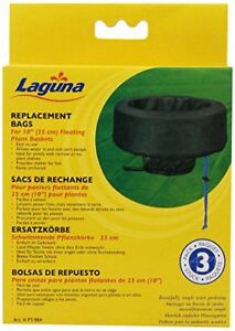 NEW Laguna Floating Small Plant Basket Replacement Bag 3 Pack FREE SHIPPING