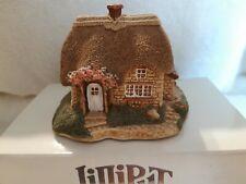 New listing Lilliput Lane Lavender Cottage collector's club coa deed Mib rare perfect condit