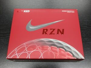 Nike RZN Tour Red Golf Balls - Brand New - 1 Dozen - 4 Sleeves - Free S&H