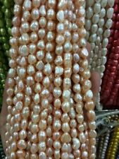 "Wholesale 10 colors irregular freshwater pearl loose beads 13 """