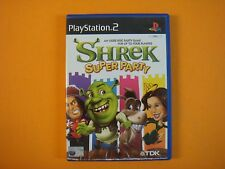 ps2 SHREK SUPER PARTY Great Multiplayer Game PAL