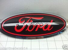 Ford F150 2015 2016 2017 2018 2019 Front and Rear Oval Emblem Overlay Decal