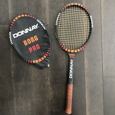New listing Donnay Borg Pro Tennis Racquet with Cover