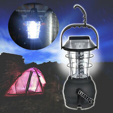 Portable Solar Power 36 LED Hand Crank Camping Outdoor Lantern Tent Lamp Light