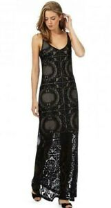 ex Star by Julien Macdonald lace maxi dress