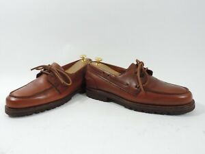 Church's Cheaney Mens Shoes Loafers Boat Deck  UK 8 US 9 EU 42 F Worn twice