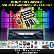 SONY 98-2013 HARLEY MARINE RADIO TOURING INSTALL ADAPTER FLHT DASH KIT FLH PAC 4