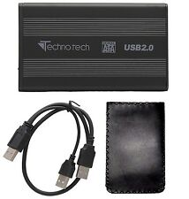 TECHNOTECH EXTERNAL 2.5 INCH USB 2.0 TO SATA HDD CASE CASING LAPTOP