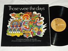 THOSE WERE THE DAYS (1969) DJ/Promo RCA VICTOR LP w/Shaw/Lanza/Mancini...